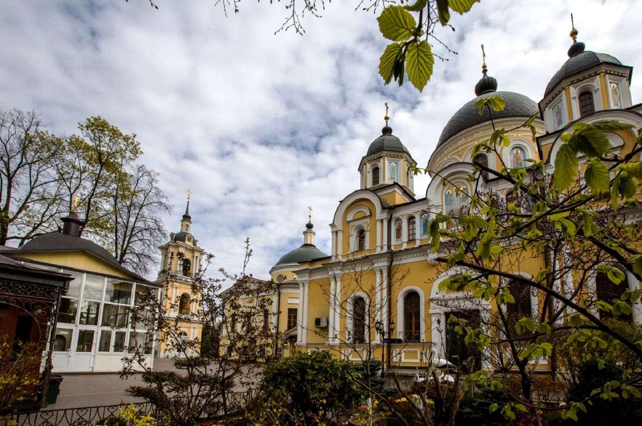 Свято-покровский женский монастырьна Таганке