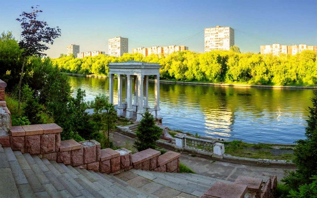 Серебряный бор в Москве