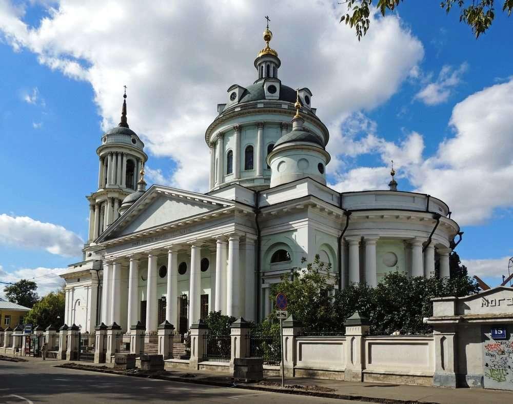 Церковь Святого Мартина Исповедникана Таганке