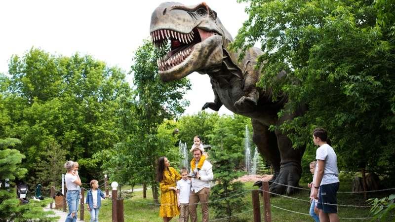 Дино парк в парке Сказка