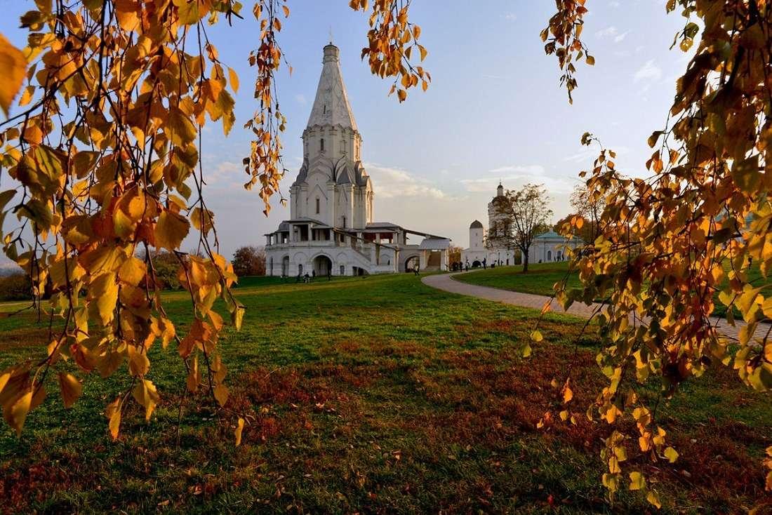 Музей – заповедник «Коломенское» осенью