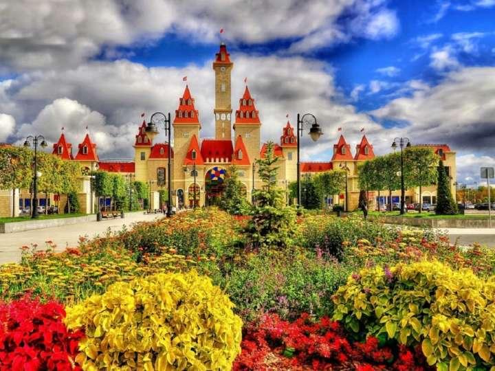 Остров мечты в Москве