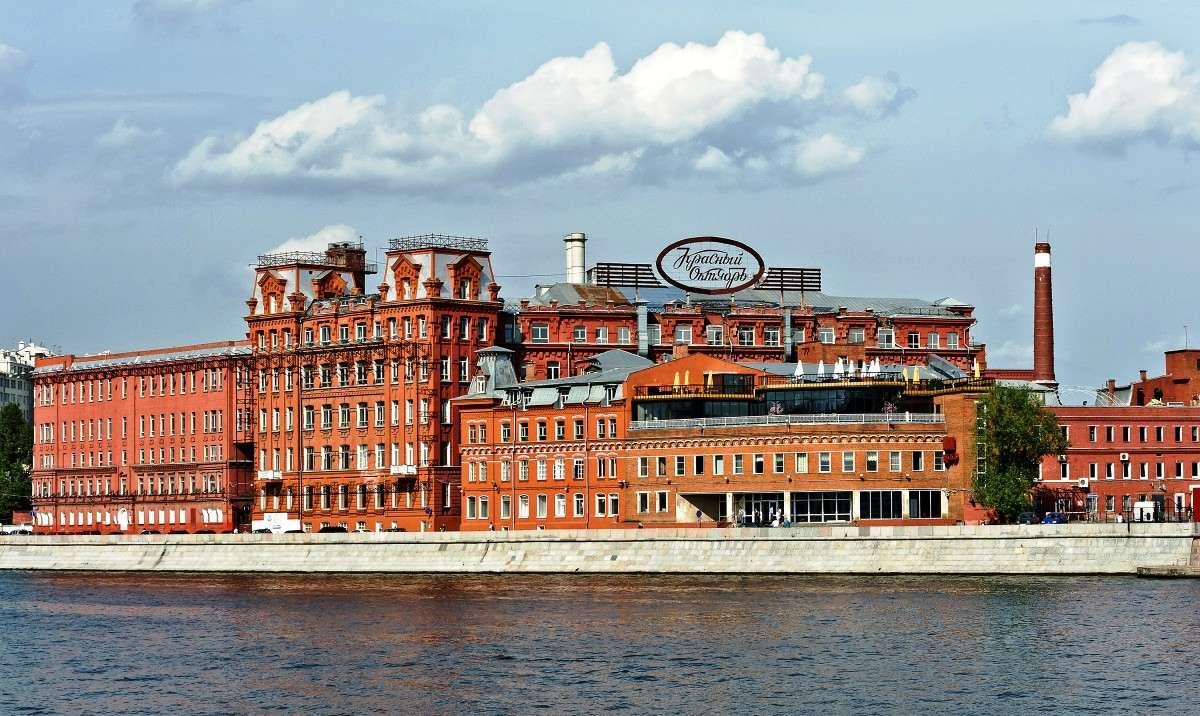 Фабрика Красный октябрь в Москве