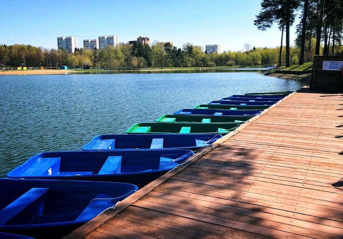 Школьное озеро в Зеленограде