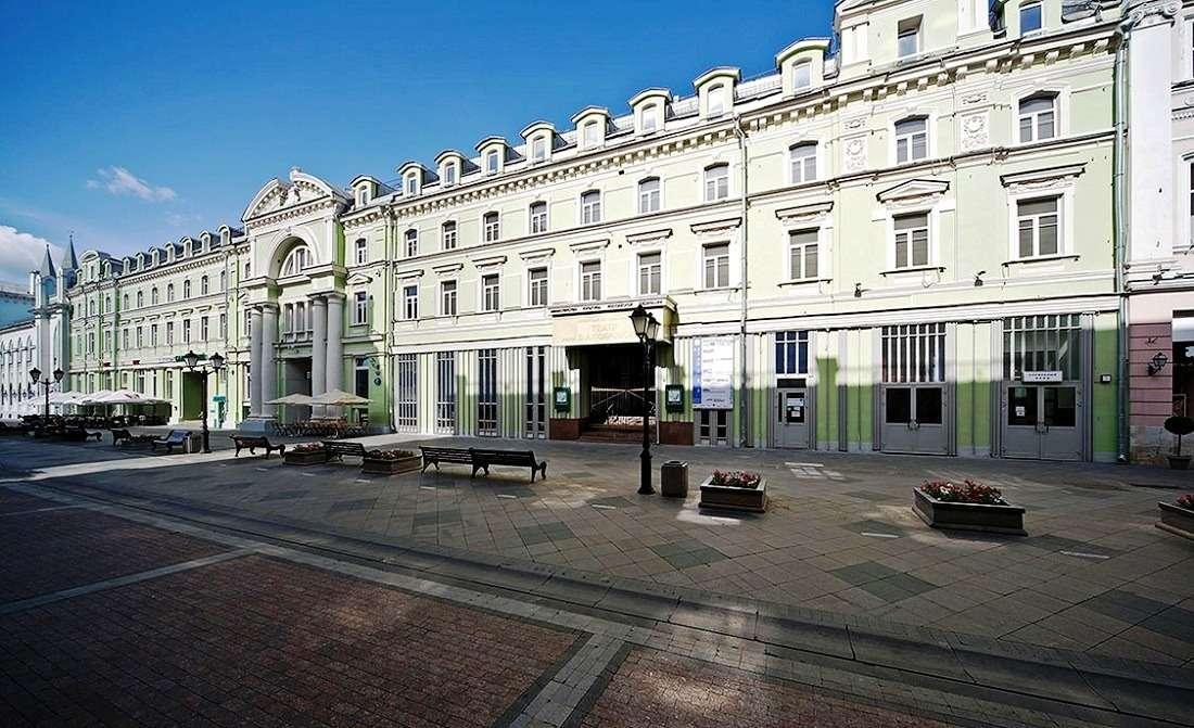 Гостиница и ресторан «Славянский базар» на Никольской улице