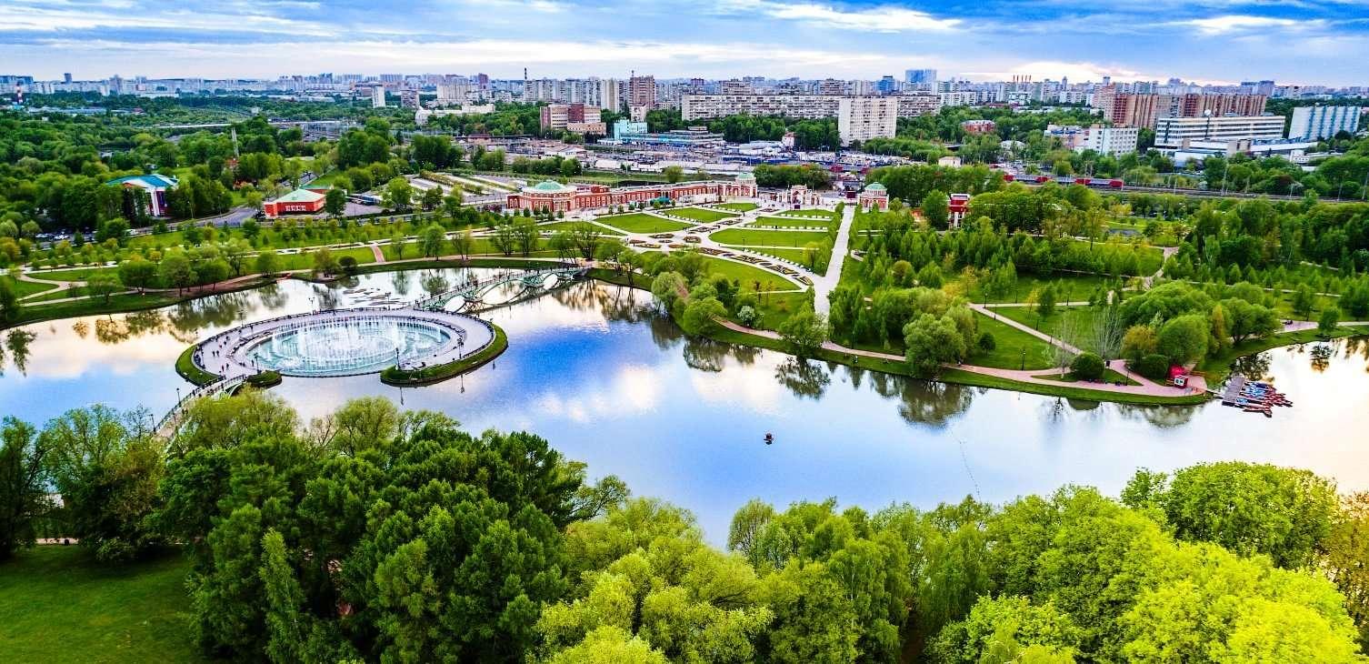 Дворцово-парковый ансамбль «Царицыно»