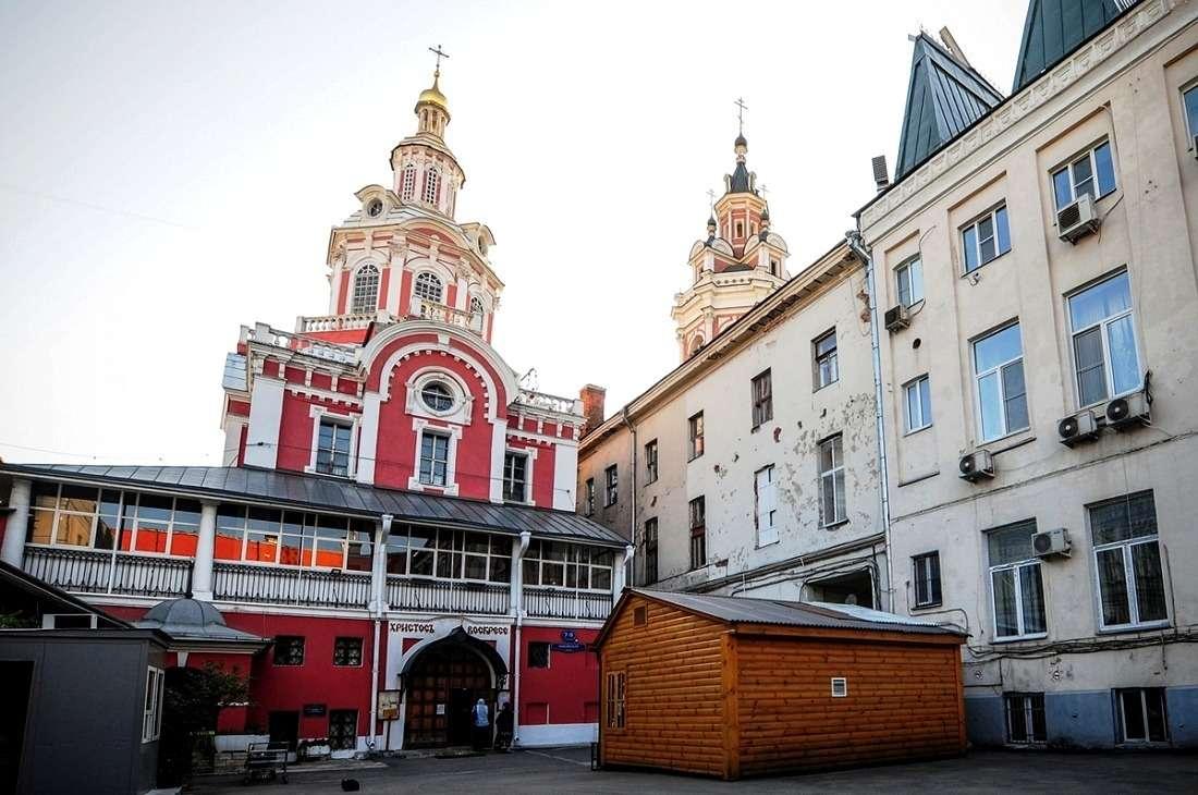 Заиконоспасский мужской монастырь на Никольской улице