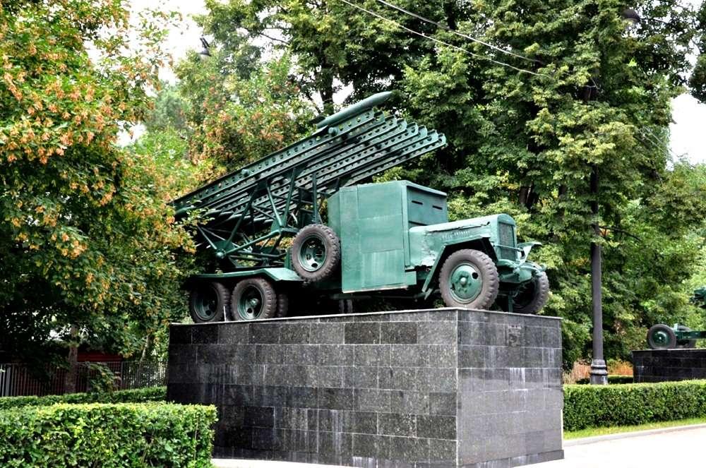Катюша в Измайловском парке