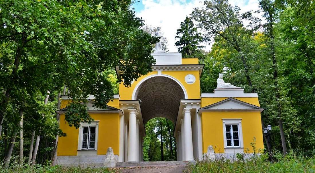 Павильон «Миловида» в Царицыно