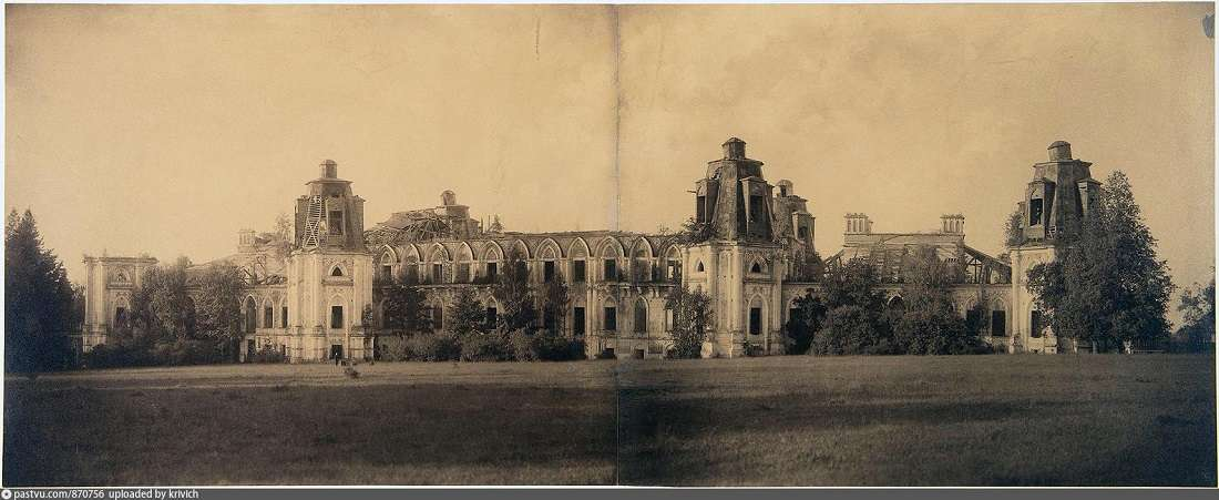 Царицыно. Панорама Большого дворца