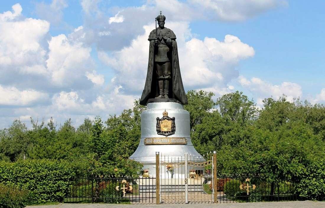 памятник Николаю II в Мытищах