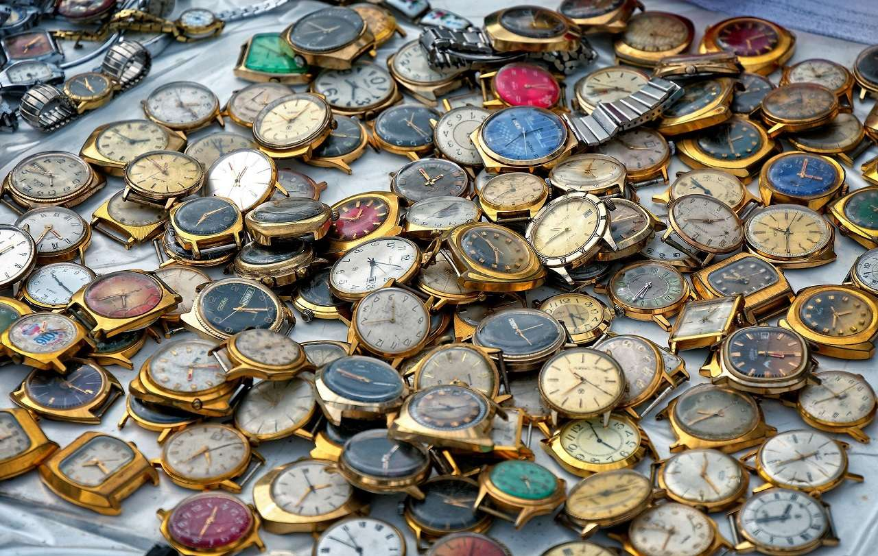 Художественный проект «Блошиный рынок» на Тишинке