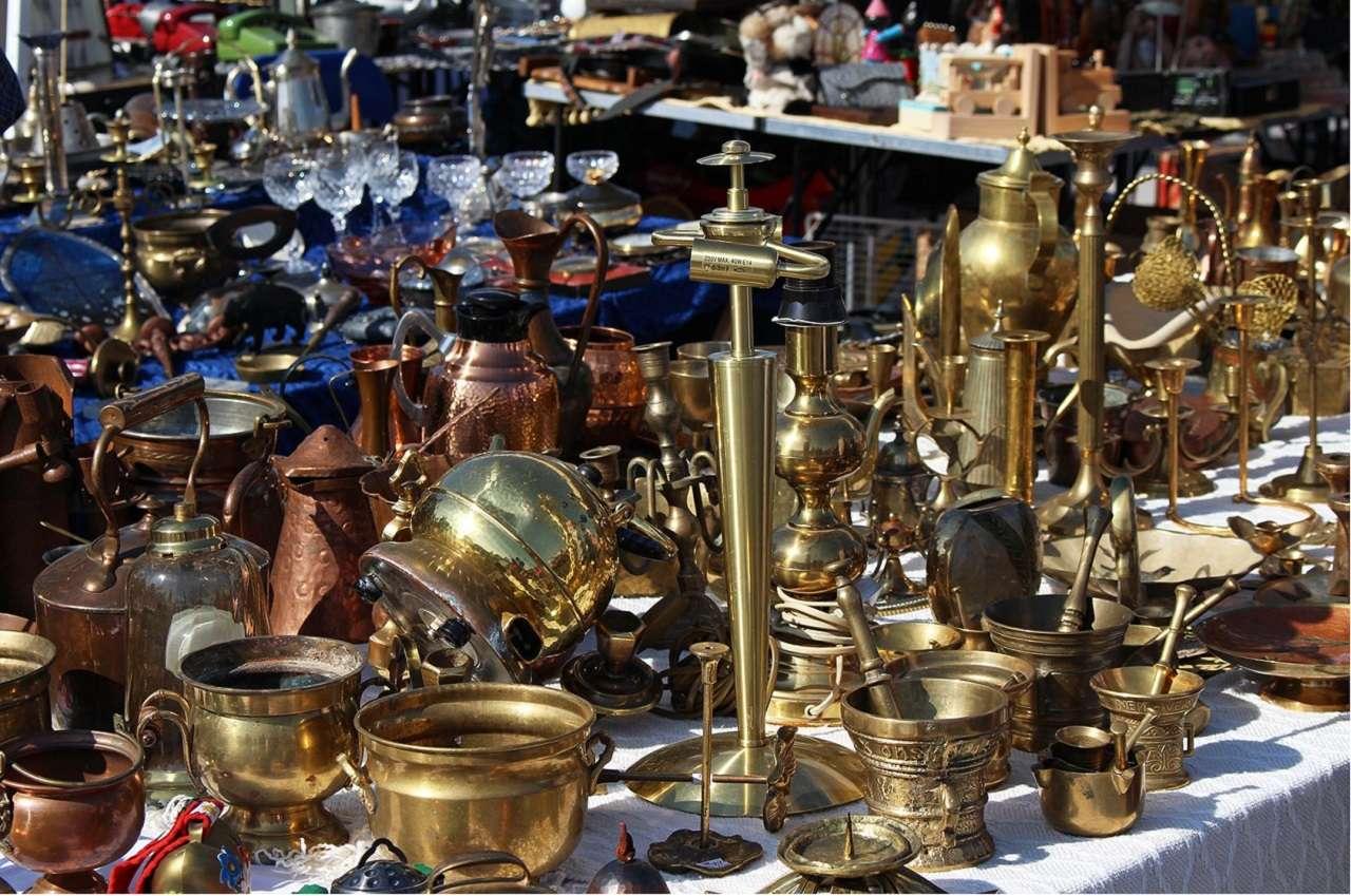 Блошиный рынок в Кунцево