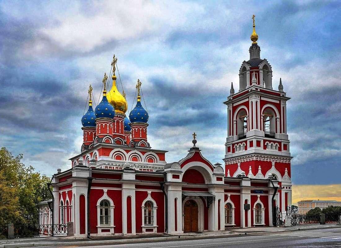 Георгиевская церковь на улице Варварка