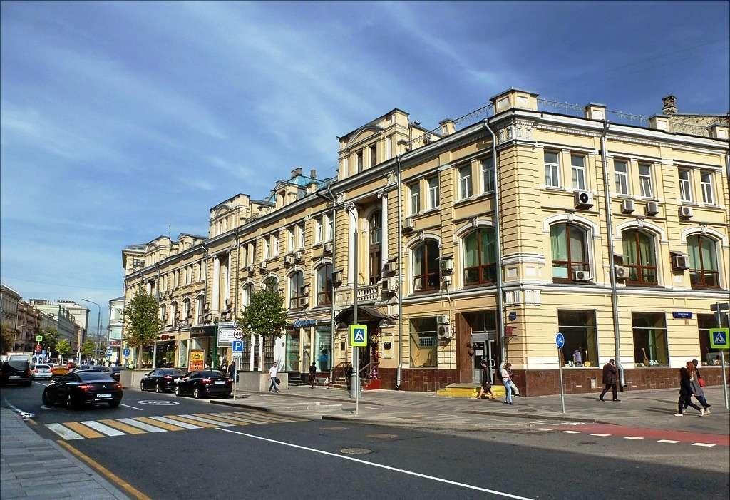 Здание Московского купеческого общества