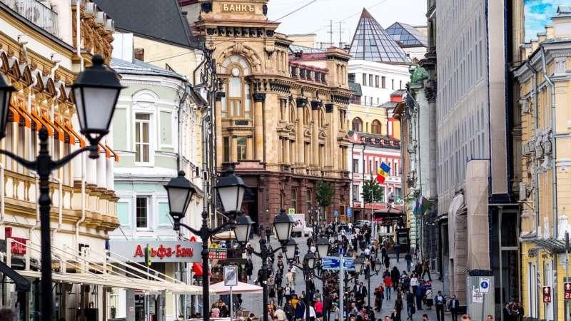 Кузнецкий мост - улица в центре Москвы