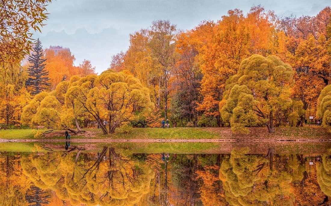 Парк «Фили» осенью
