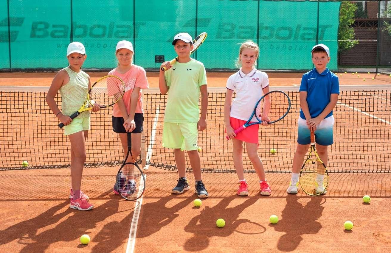 Первый в России теннисный турнир Большого Шлема для детей