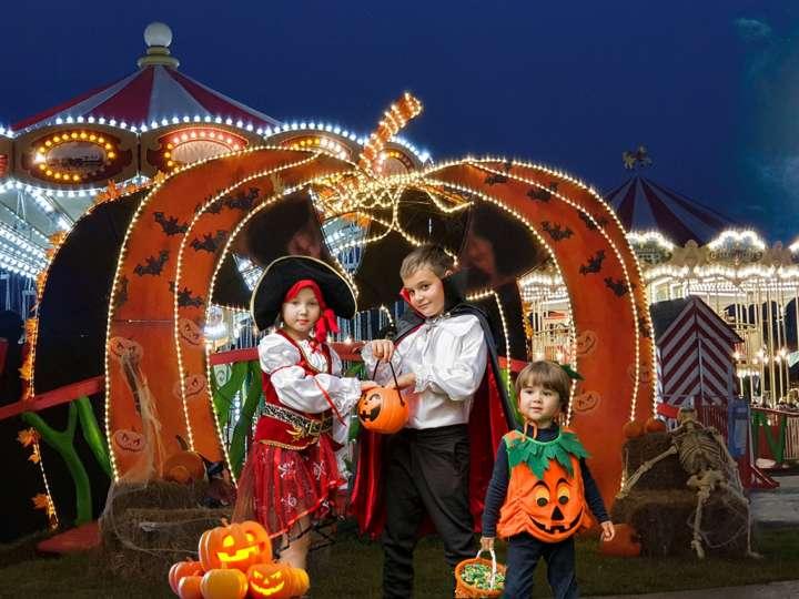 праздник Хэллоуин в парке Сказка
