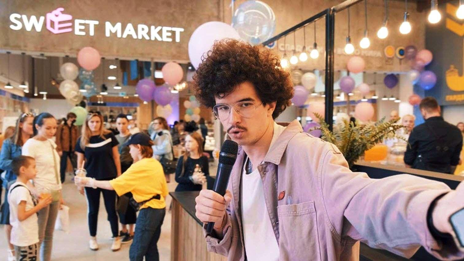 В Москве открылся первый в России Sweet Market